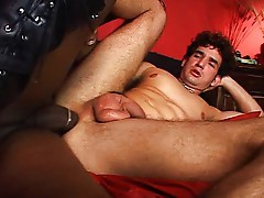 Guy ass fucked by shemale