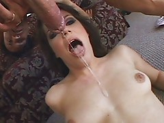 Bobbi Starr loves gagging blowjob