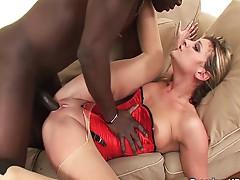 Fucked by his big black cock