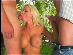 Balloon titted Kelly blowing and fucking