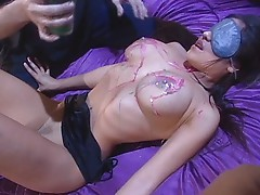 Jenaveve gets waxed and nailed