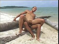Pretty boys at the beach
