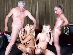 2 blondes pleasant old men