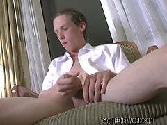 Horny gay irish gay twink seth o'conner solo sweet cock jerking