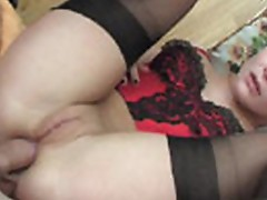 Very young and very horny porn video