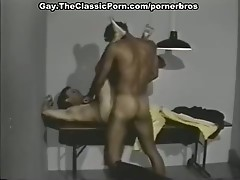 Horny gay lawyer fucked hard by his client