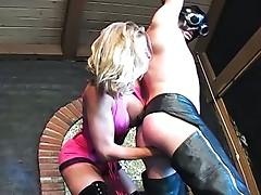 Video femdom ballbusting
