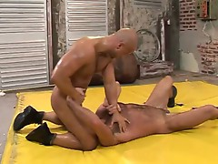 Super hot wrestling turning into hot gay fuck with greg and nico