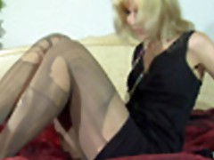 Sex in pantyhose video