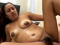 Girl enjoying cock riding