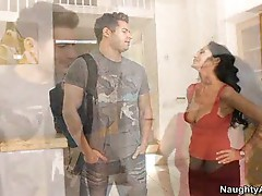 Milf babe ava addams loves fucking her house guests