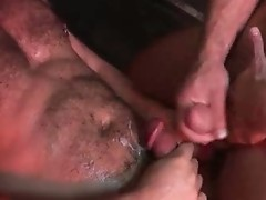 Extremely horny gay men fucking video