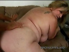 Horny dude pounds a blonde bbw milf