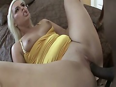 Blonde pussy relentlessly pounded