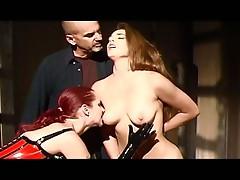Hot fetish fuck by sex machine