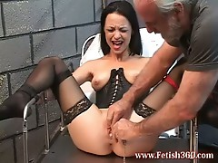 Nasty bitch loves getting her pussy whipped