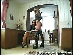 Sexy monika and horny gabi love nylon