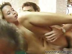 Naughty hot sluts love pussy pumping action