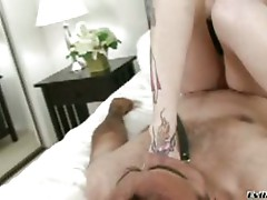 Red head dominatrix gets her way when she has her ass licked