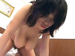 Amateur big boobies asian slut strips off then fucked hardcore