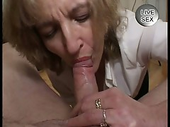 Mature lady giving blowjobs