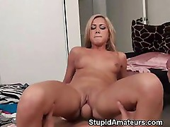 Pounded Out Amateur Blonde