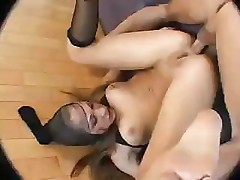 Lusty babe needs a dick in her holes any way she can get them