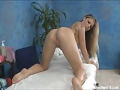 Inner Massage For Elated Blonde