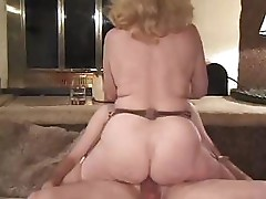 Mature ladies go after a younger cock and suck and fuck it