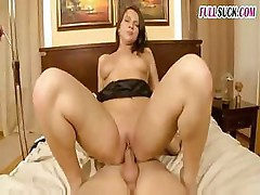 Hot MILF takes care of the younger cock and fucks it well