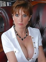 Busty hot mature