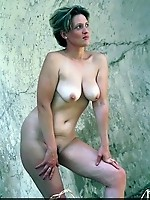 We just love her sexy mature tits