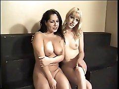 MEGHAN and GENEVA Shemale love play