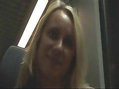 Blonde Amateur Public Play