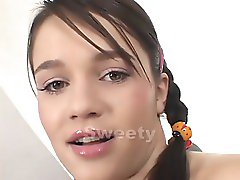 young brunette hard fucked
