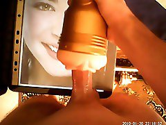 Kristin Kreuk Fleshlight tribute