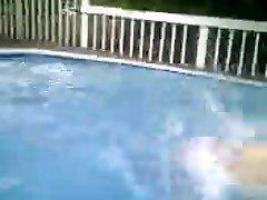 Darla skinny dipping 1