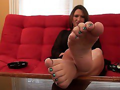 JOI - sheena Soles Feet
