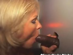 Gloryhole Creampies! Pussy and Ass!