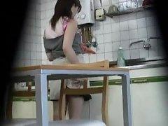 Hidden camera in kitchen