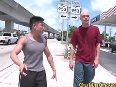 Hot straight guys get outed in public part5