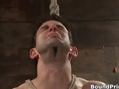 Jason Dirk in very extreme gay bondage part4