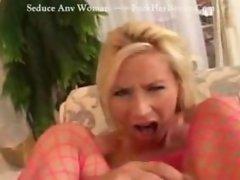 Smashing Blonde Ass Foursome Blowjob