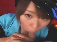 Asian Blowjob And Cum Facial Compilation