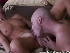 Slutty milf loves her studs cock as she is fucked