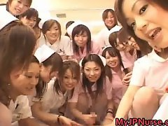 Real asian nurses enjoy intercourse on top part2