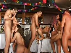 Happy new year group sex !,Black Angelika;Felony;Simony Diamond