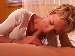 MILF gets horny from time to time