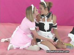 Three hot girls love having part2