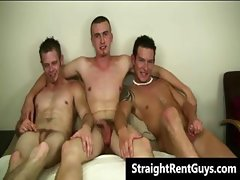 Super hot hetero guys doing gay sex part6